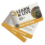 Bug Out Bag Cards